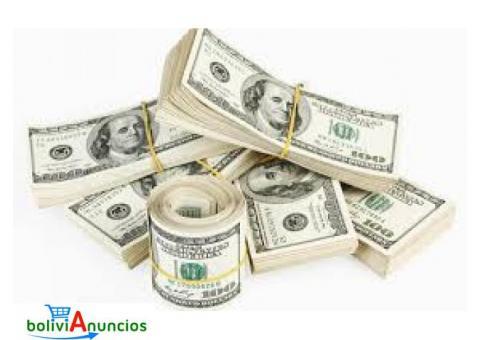 Ofrecemos fondos / dinero