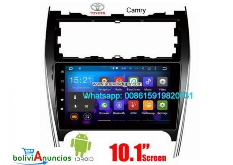 Toyota Camry USA AU UK radio Car android wifi GPS cámara navegación