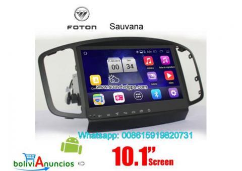 Foton Sauvana radio Car android wifi GPS cámara navegación
