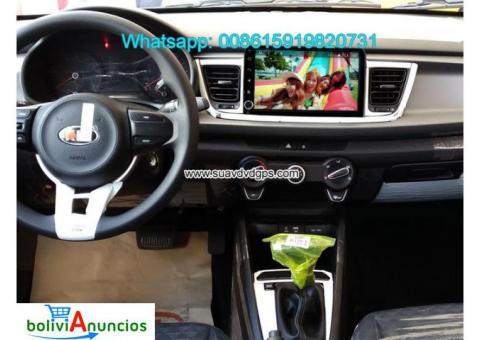 Kia Rio 2017 radio audio Cámara androide navegación GPS wifi