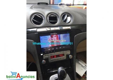 Ford S-Max radio audio Cámara androide navegación GPS wifi