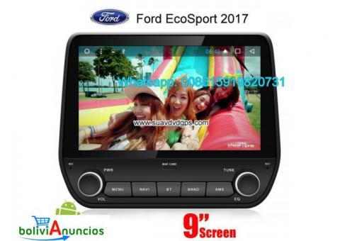 Ford EcoSport 2017 radio Car android wifi GPS cámara navegación