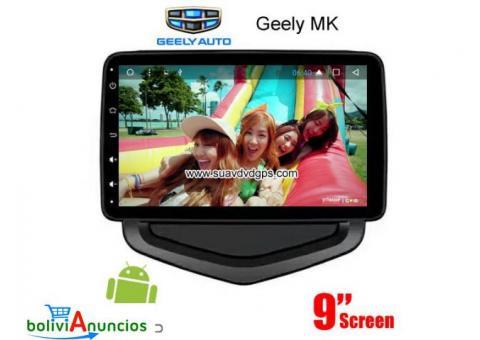 Geely MK 2016 2017 radio Cámara androide navegación GPS wifi