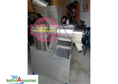PLANTA FRUTAS CEPILLADORA SELECCIONADORA DESPULPADORAS