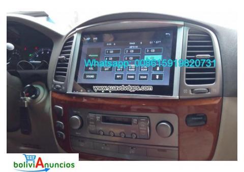 Lexus LX470 car audio radio android wifi GPS camera navigation