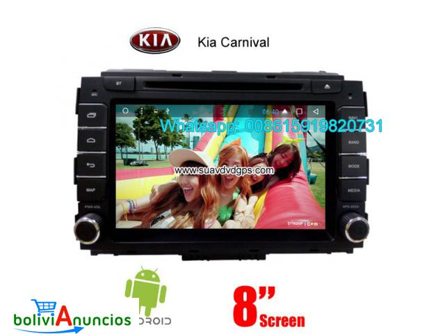 Kia Carnival car audio radio android wifi dvd GPS camera