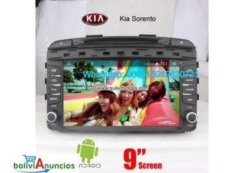 Kia Sorento 15-16 radio audio Cámara androide navegación dvd GPS wifi