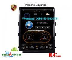 Porsche Cayenne audio radio Car android wifi GPS cámara navegación