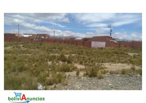 Se vende lote en la Urb. San Felipe de Seque de 1.000 mts2 sobre la avenida de 30 mts