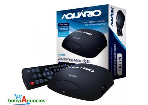 CONVERSOR GRABADOR DIGITAL FULL HD DTV-5000